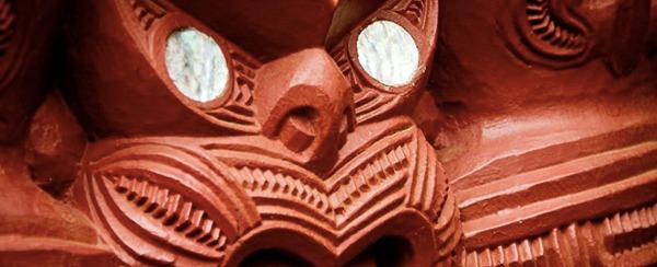 La culture maorie en Nouvelle-Zélande - masque