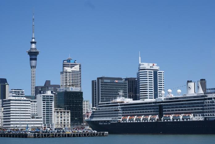Vue d'Auckland