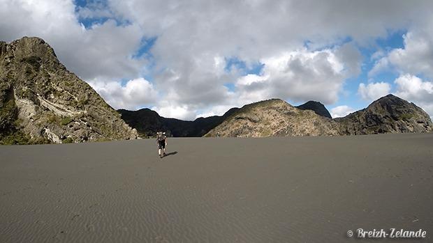 waitakere Range - plage de sable noir nouvelle-zelande