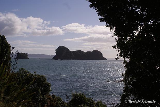 îles au large de Cathedral Cove