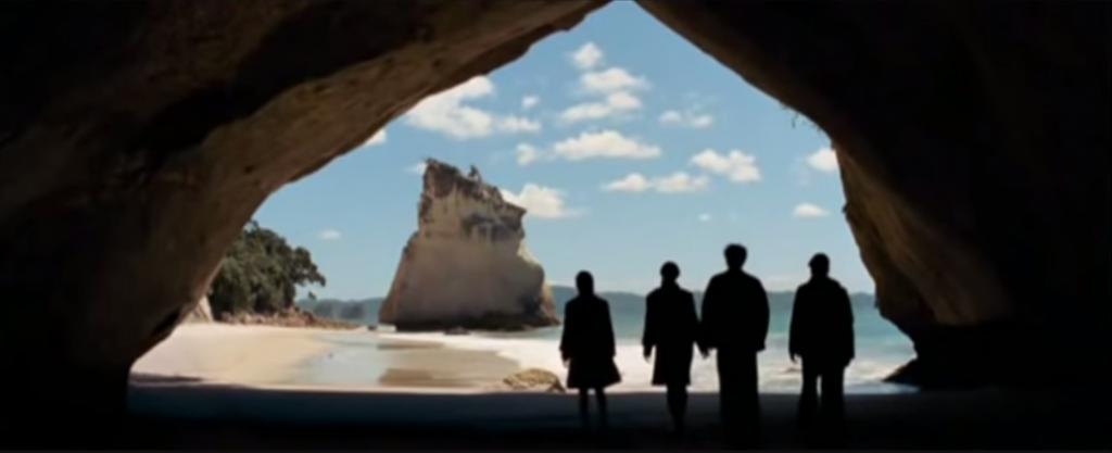 Le monde de Narnia à Cathedral Cove