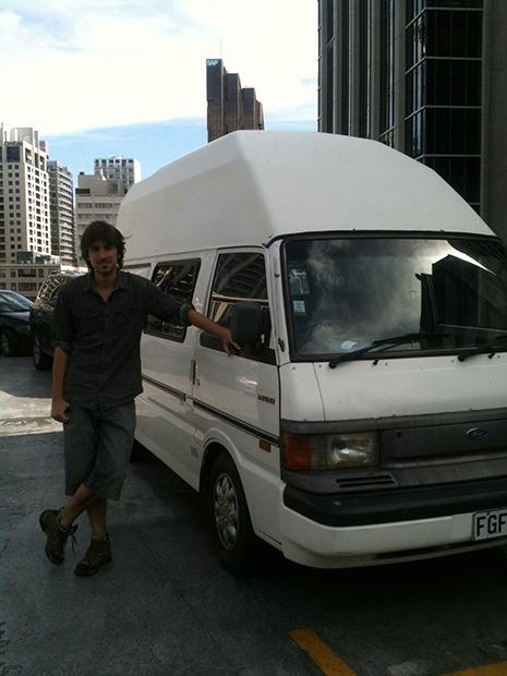 Acheter un van en Nouvelle-Zélande