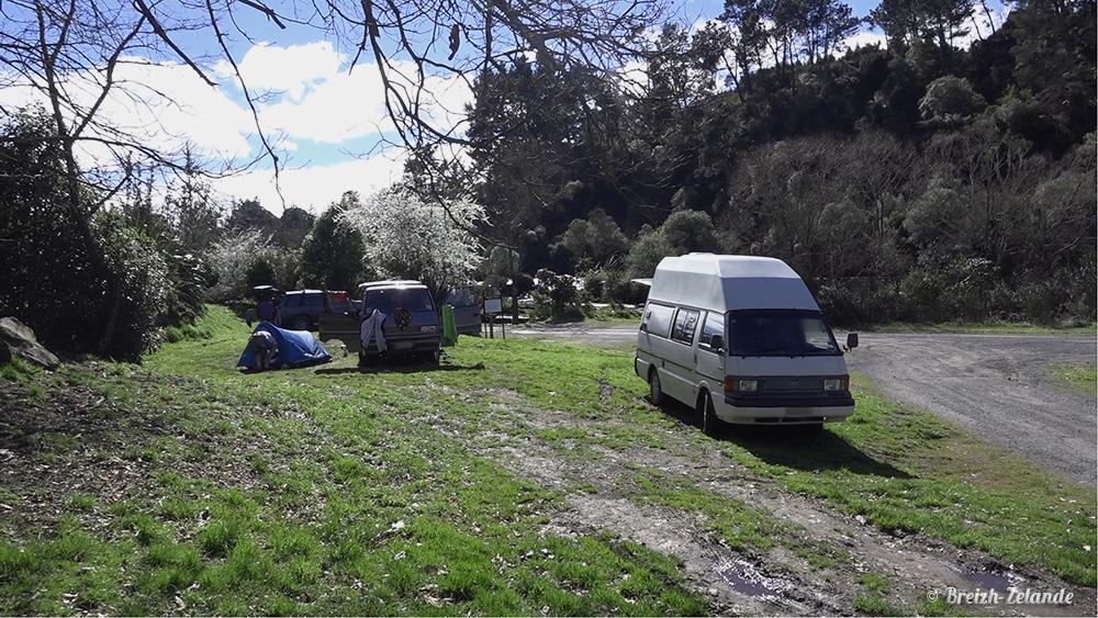 Camping gratuit Huka Falls