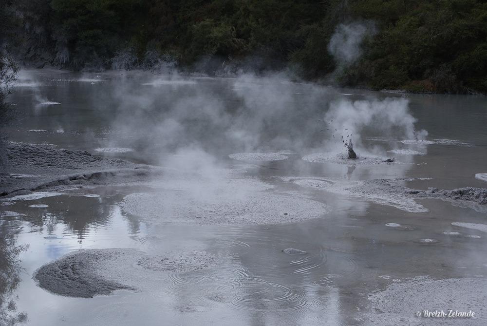 La Mud Pool de Wai-O-Tapu