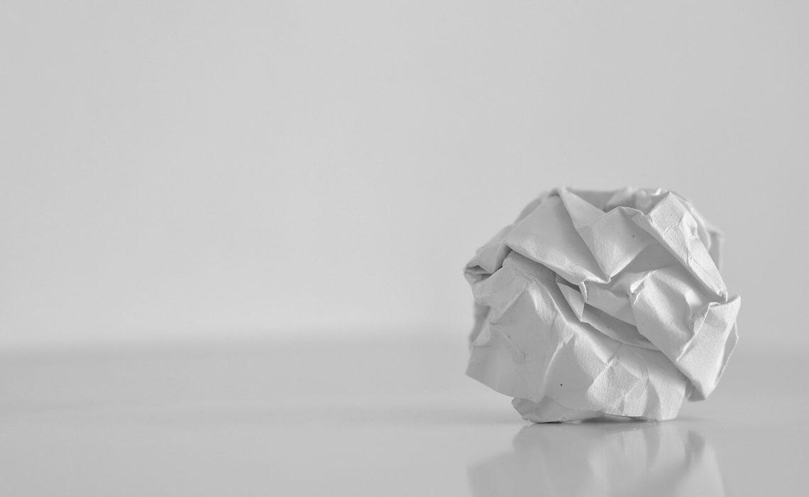papier boule