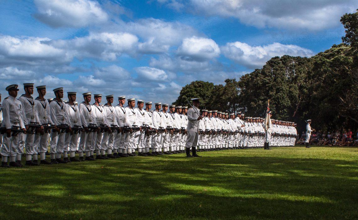 Wwaitangi militaire