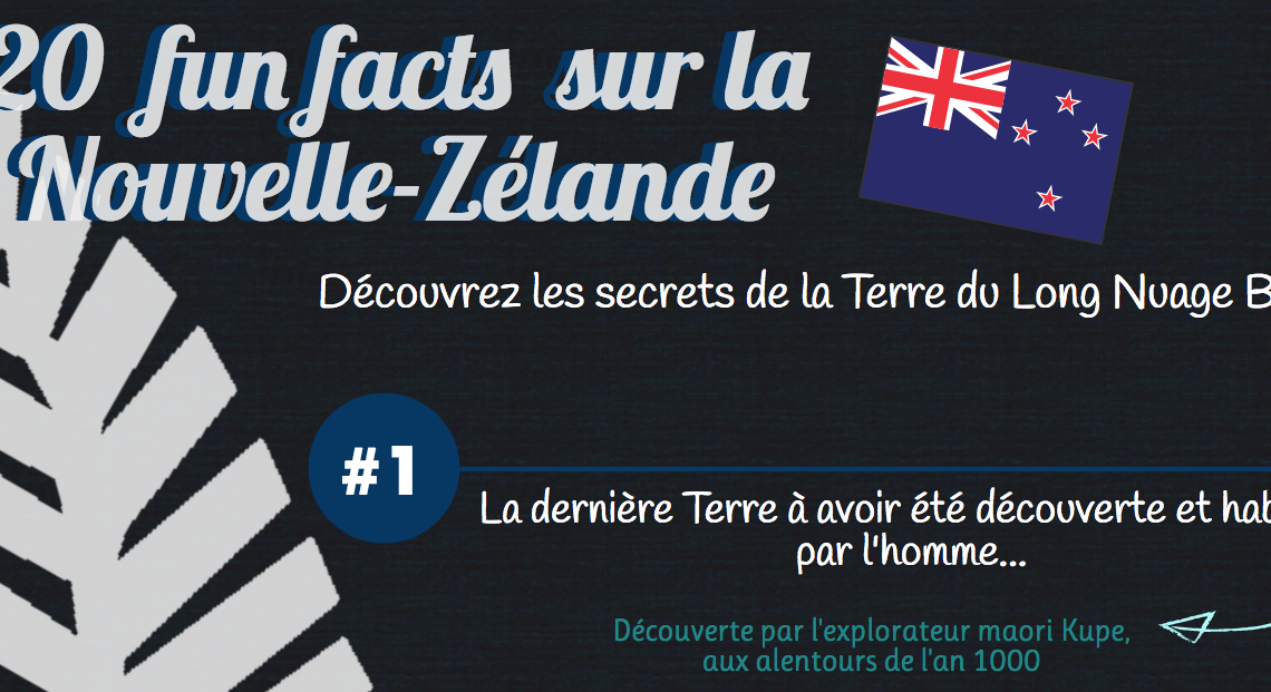 20 fun fact sur la nouvelle-zélande