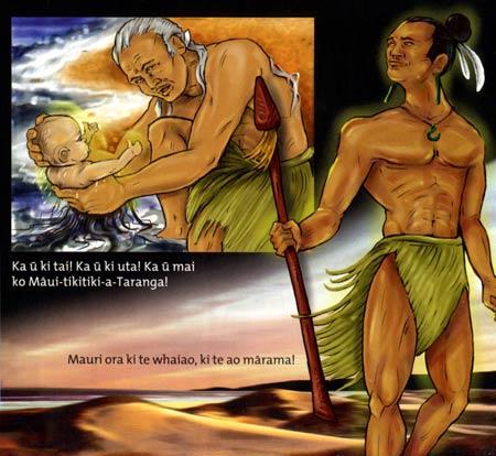 Maui demi dieu maori