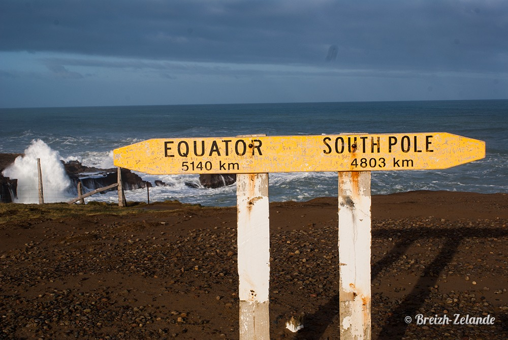Slope Point South Pole