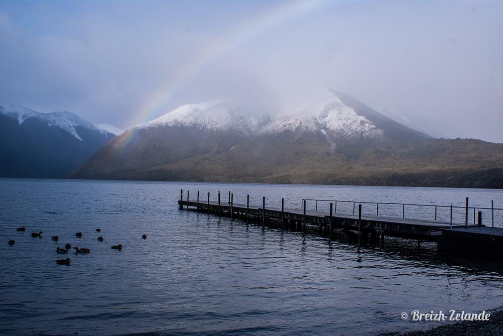 Nelson Lakes Nouvelle-Zélande PVT