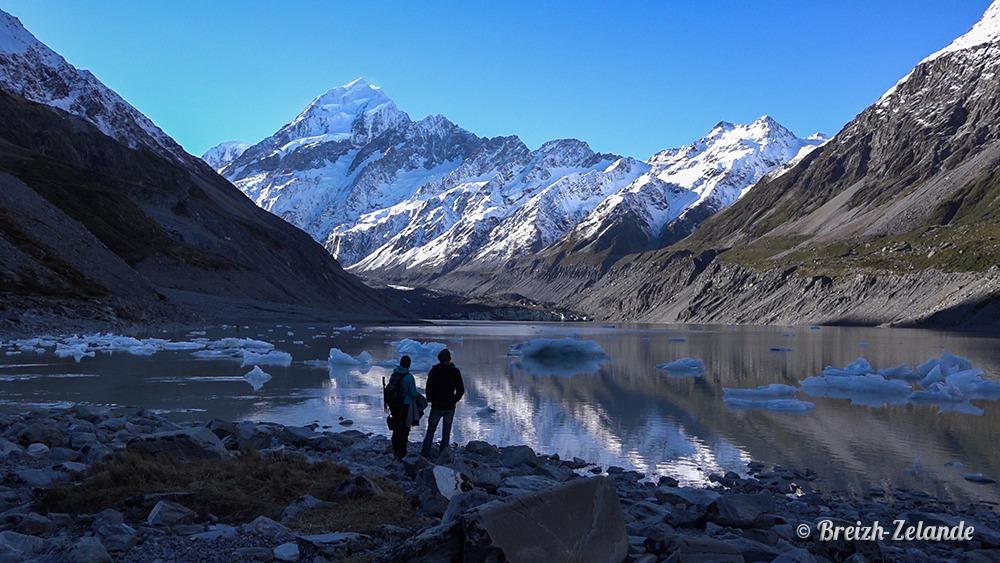 Lac-glacier-Mount-Cook