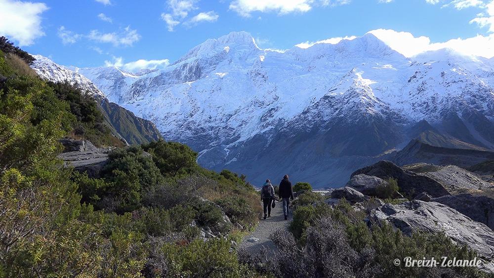 Mount-Cook randonnée