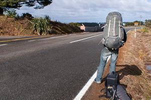 Le stop en Nouvelle-Zélande
